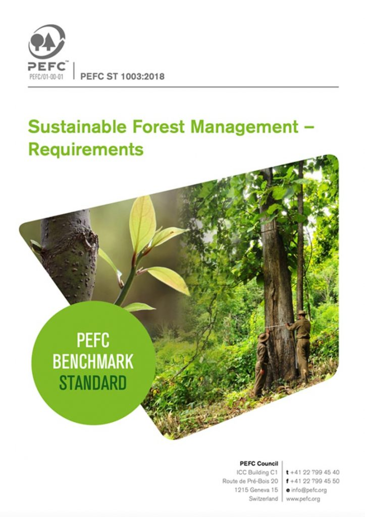 Sustainable Forest Management (PEFC ST 1003:2018)