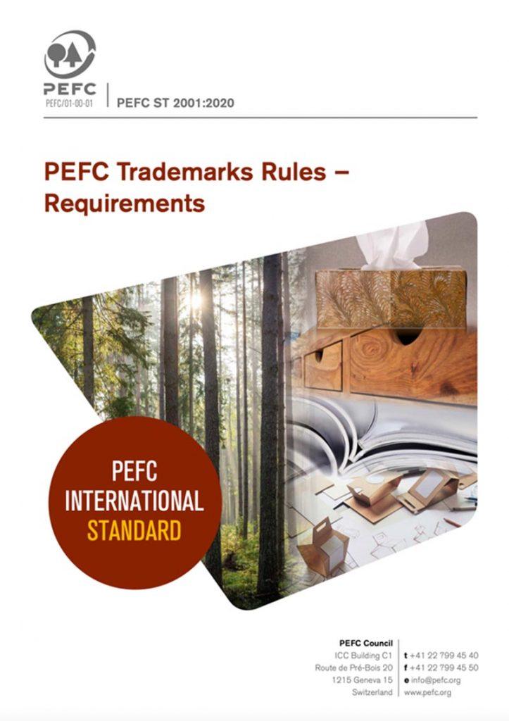 PEFC Trademarks Rules (PEFC ST 2001:2020)