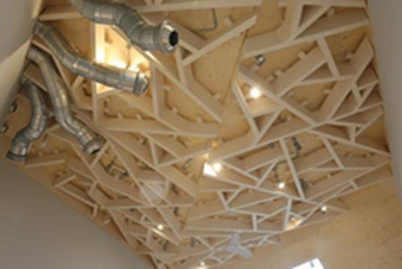 Heath Robinson museum roof
