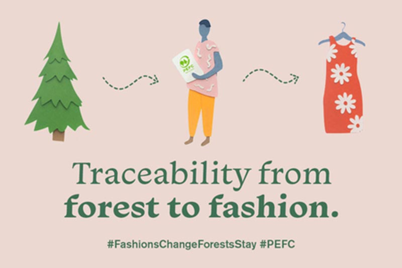 Traceability from forest to fashion